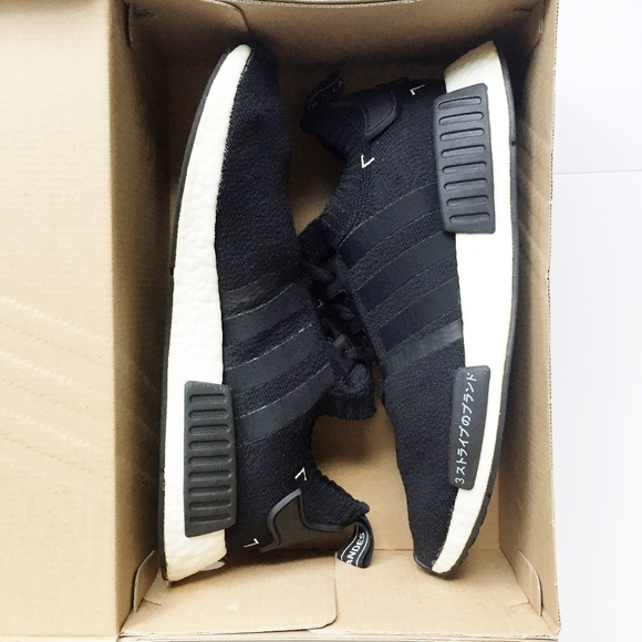 ADIDAS NMD R1 JAPAN BOOST PK black shoes sneakers